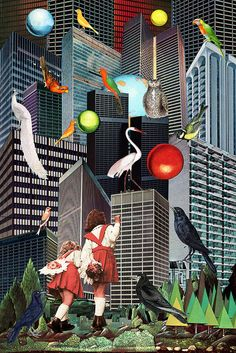 Fairy tales adapting to the urban environment