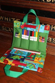 Items similar to Dinosaurs Squared -Art tote and Children's Carry All-Travel Art Supply Bag on EtsyGadgets just like Squared Dinosaurs - Tote Artwork and All-Journey Artwork Su Please visit our website forArt Supplies - Think You Have No Talent For Arts A Sewing Art, Sewing Crafts, Sewing Projects, Art Projects, Sac D'art, Diy Couture, Art Bag, Fabric Bags, Sewing For Kids