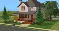 Mod The Sims - The Pineridge Retreat (Minimal CC) (Two Versions)