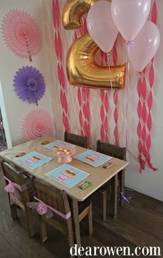 Free Printable Birthday Party Placemats