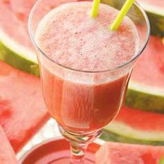 Tropical Watermelon Smoothie Recipe from Grandmother's Kitchen