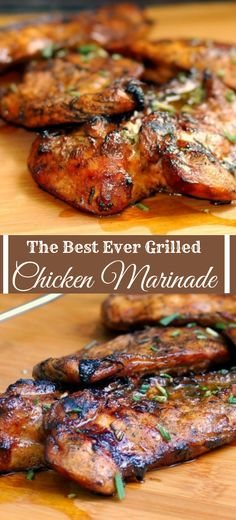 10 Easy Chicken Recipes 2017 😀 How to Make Delicious Family Dinner 😱 Best Recipes Video - The Best Chicken Recipes Best Grilled Chicken Marinade, Grilled Chicken Thighs, Chicken Marinade Recipes, Best Chicken Recipes, Grilling Chicken, Best Grill Recipes, Homemade Marinades For Chicken, Grilled Food, Grilled Chicken Marinade Easy