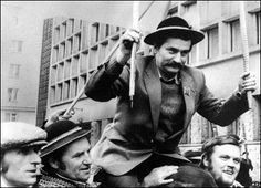 """August 14, 1980: Polish shipyard worker, Lech Walesa, led a strike of workers at Gdansk shipyard. The """"Solidarity"""" strike would become the catalyst that would invoke social and political reforms throughout Poland and eventually all the Warsaw Pact nations."""