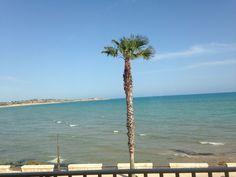 Dalla finestra a Sampieri (Sicilia)