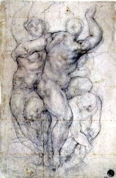 Pontormo - Study for a Group of Nudes