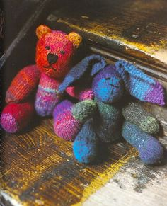 Bunny in Noro Kureyon. Discover more Patterns by Noro at LoveKnitting. The world's largest range of knitting supplies - we stock patterns, yarn, needles and books from all of your favorite brands.