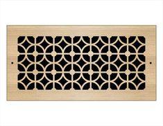 Laser Cut Wood Grilles | Pacific Register Company Laser Cut Wood, Laser Cutting, Wall Vent Covers, Types Of Wood, Bronze, Flooring, Tile, Pattern, Cricut