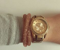 Swarovski bracelet - Stardust Pink