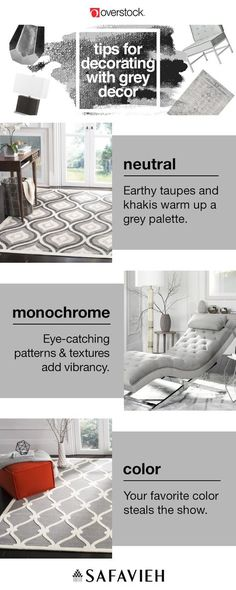 Grey is a classic neutral color that is amazingly versatile, too. Keep your home decor beautiful and on-trend with one of these three grey color schemes.