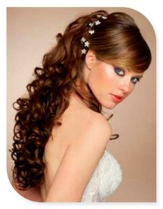 1000 images about quinceanera hair on pinterest - Peinados de moda sencillos ...