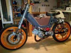 Bobber Bikes, Motorcycles, Engin, Motor Scooters, 50cc, Peugeot, Dan, Racing, Cool Motorcycles