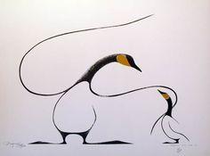Benjamin CheeChee-Family of Geese