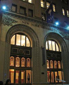 NYU's urban campus | #NYU #NewYorkUniversity