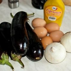 Our goal is to keep old friends, ex-classmates, neighbors and colleagues in touch. What To Cook, Eggplant, Salad Recipes, Good Food, Food And Drink, Appetizers, Cooking Recipes, Eggs, Vegetables
