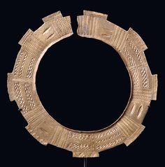 "Africa | Collier ""onlua"" from the Teke people of DR Congo 