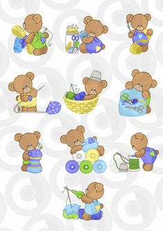 Clipartopolis.com - Heaven ДИГИТАЙЗЕР в Bear Cartoon, Cartoon Pics, Clip Art Pictures, Baby Clip Art, Cute Backgrounds, Digi Stamps, Baby Shower Themes, Handmade Crafts, Baby Quilts