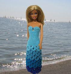 eBay - Crochet Fashion Doll Patterns Barbie dolls of the world