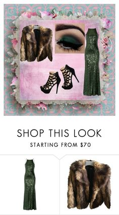 """""""GREEN"""" by li-directioner ❤ liked on Polyvore featuring Badgley Mischka and ASOS"""