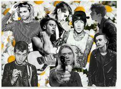 Alex Turner , Oli Sykes , Matt Healy , Kurt Cobain <3