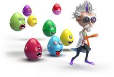 DIXY Russia: cracked eggs