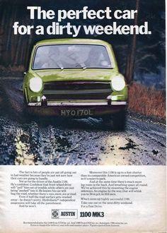 Austin/Morris 1100 & 1300 advertising 1970 U. Van Car, Best Ads, Car Posters, Car Advertising, Commercial Vehicle, Car Photos, Motor Car, Art Cars, Classic Cars