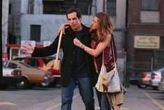 Still of Jennifer Aniston and Ben Stiller in Y entonces llegó ella