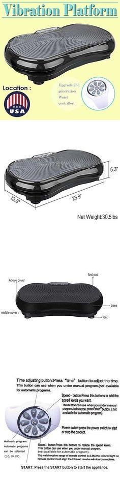 Vibration Platform Machines 171593: Vibration Platform Plate Whole Body Massager Machine Slim Exercise Fitness -> BUY IT NOW ONLY: $99.99 on eBay!