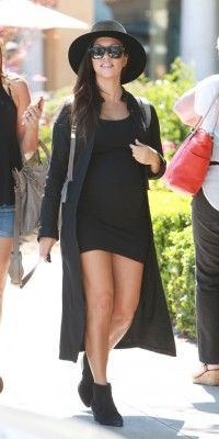Kourtney Kardashian : une future maman aventureuse !