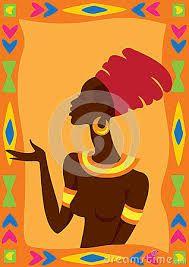 Resultado de imagem para vectores siluetas rostros africanas