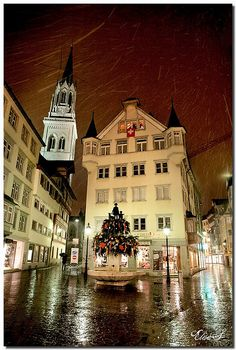 St Gallen, Switzerland, i lived here in 1991-92!
