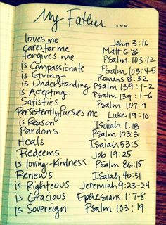 What an awesome way to reflect on how awesome He is!