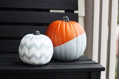 Paint some pumpkins!   Idea from Formal Fringe