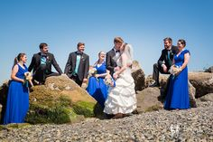 Lazzat Photography   North West Seattle-Tacoma Beach Wedding   Baby Blue Seashells Corrals   Wedding Bridal Party Summer Outdoor Session  Mukilteo Lighthouse