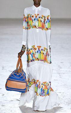 Stella Jean Spring/Summer 2015 Trunkshow Look 27 on Moda Operandi Colorful Fashion, Love Fashion, Womens Fashion, Fashion Design, African Inspired Fashion, African Fashion, Boho Outfits, Fashion Outfits, Stockholm Fashion Week
