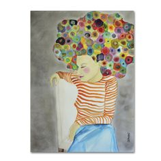 Marion by Sylvie Demers Painting Print on Wrapped Canvas
