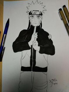 My Naruto lineart.