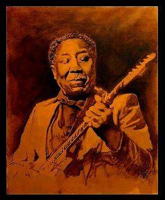 Muddy Waters - painted by Theo Reijnders