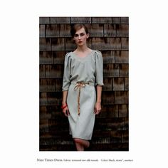 Filly silk dress