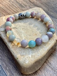 Dress up your wrist with this Beautiful Pastel Beaded Stretch Bracelet. #bracelet #jewelry #pastel #bohojewelry #handmadejewelrydiy Stretch Bracelets, Beaded Bracelets, Boho Jewelry, Etsy Seller, Pastel, Bohemian, Inspired, Creative, Unique