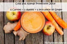 Cold and Flu Protection Juice