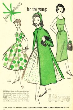 McCall's Patterns for the young, 1956