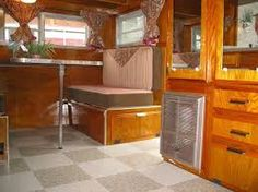 Image result for interior 1950 terry trailer
