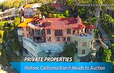 10,000-Sq. Ft. Home With 1 Bedroom Sells for $20M (VIDEO) California Ranch, Private Property, Real Estate, Mansions, Bedroom, House Styles, Home Decor, Decoration Home, Manor Houses