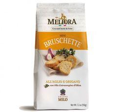 Meliora mini bruschette van look & oregano  SHOP ONLINE: https://www.purelifestyle.be/food-drinks/food/aperitief/meliora-mini-bruschette-look-oregano.html