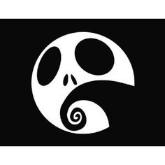 Pick Color Nightmare before christmas Decal Sticker Car