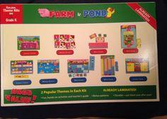 FARM-POND-The-Mailbox-Theme-Kit-for-Kindergarten-Laminated-Ready