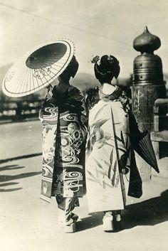 Japanese Geishas, 1945