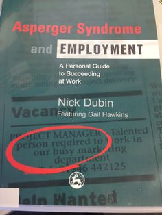 Asperger Syndrome and Employment Asperger Syndrome, Lending Library, Aspergers, Check It Out, Autism, Engineering, Management, Business, Quotes