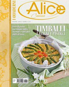 Quaderni Alice cucina Timballi Lasagne