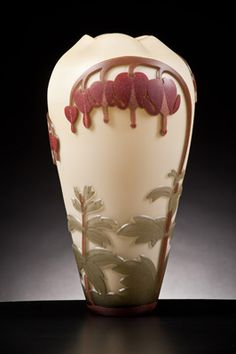 morgan contemporary glass gallery - Images for Lyla Nelson - Bleeding Heart